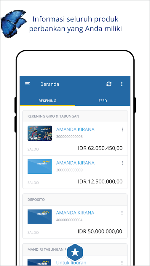mandiri online- screenshot