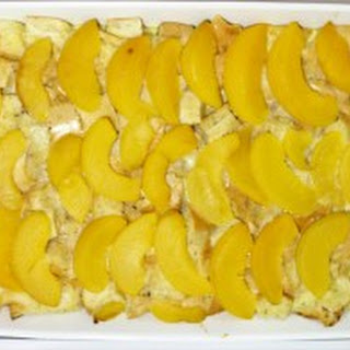 Peach French Toast Casserole