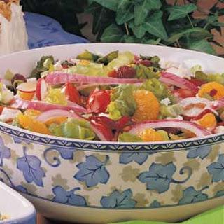 Colorful Mixed Salad.