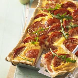 Tomato Quiche Bake