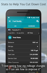 Fuel Buddy - Car Mileage Log v17.10 (Pro)