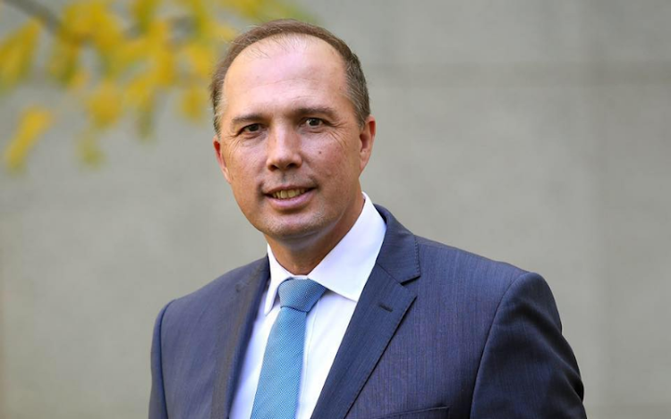 Australian Home Affairs Minister Peter Dutton. Picture: FACEBOOK