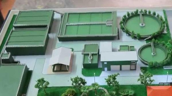 Hình ảnh mô hình kiến trúc khu công nghiệp