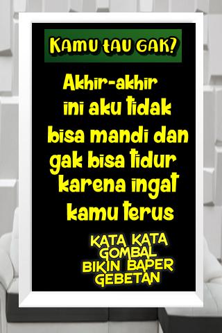 Download Kata Kata Gombal Bikin Baper Dan Mantan Balikan Apk