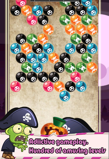 Bubble Zombie Pirate