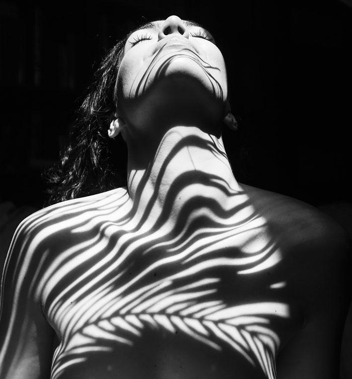 ombre sul corpo di rob