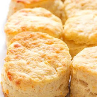 Buttermilk Parmesan Biscuits.