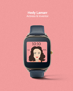 Historic Women Watch Faces- screenshot thumbnail
