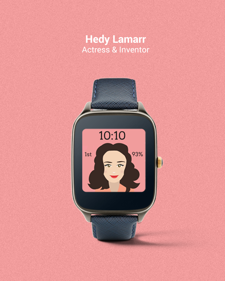 Historic Women Watch Faces- screenshot