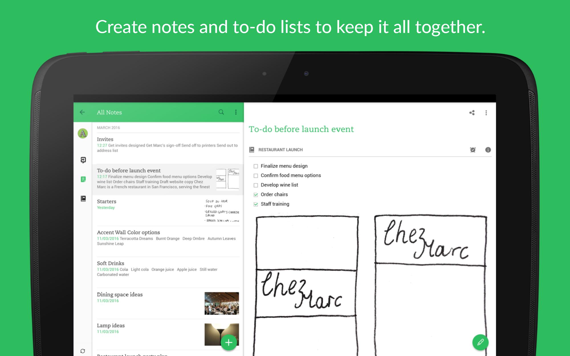 Evernote - stay organized. screenshot #9