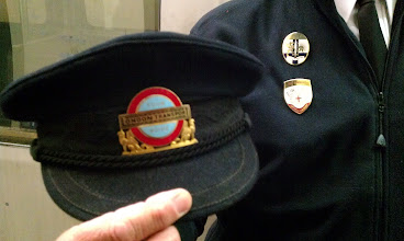 Photo: Apparently, London Transport had a badge for everything