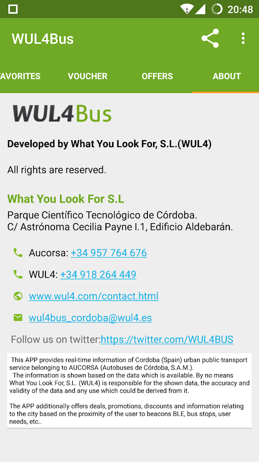 WUL4BUS (Cordoba Buses Spain)- screenshot