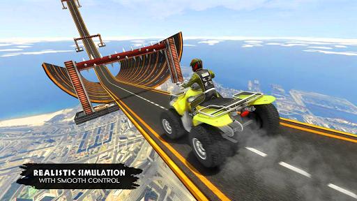 ATV Quad Bike Simulator 2019: Quad stunts Bike 4x4 screenshots 11