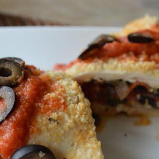 Pizza-Stuffed Chicken.