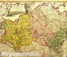 Photo: Generalkarte von Mecklenburg