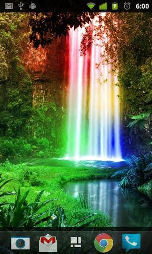 Rainbow Waterfalls L Wallpaper