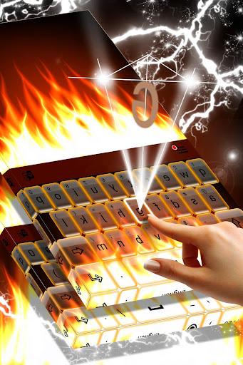 Burning Live Fire Keyboard  screenshots 2