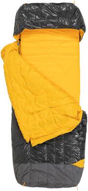 NEMO Tango Solo, 30, 650-fill DownTek Sleeping Bag/Comforter, Granite/Marigold alternate image 5