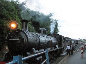Photo: Steam engine