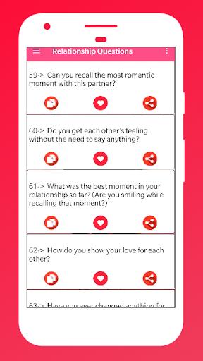 Télécharger gratuit Relationship Questions for couples APK MOD 2