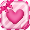 Lovely Hearts Live Wallpaper icon