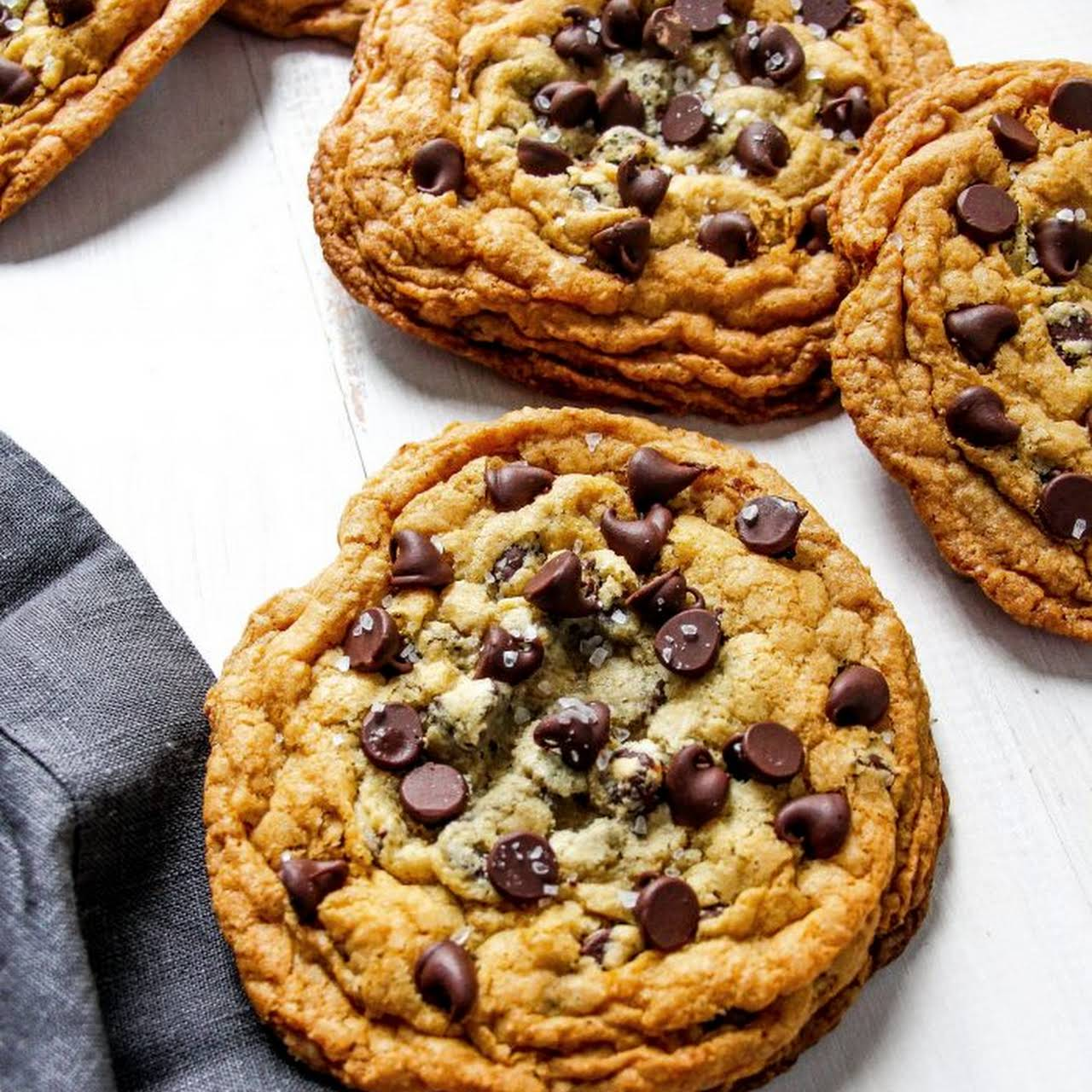 The Best Chewy Chocolate Chip Cookies (No-Mixer)