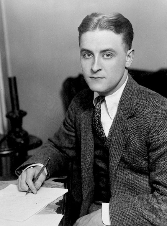 Fitzgerald in 1921. Photo via Wikipedia