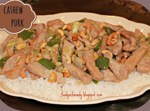Cashew Pork Recipe