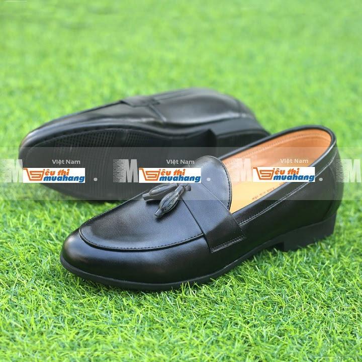 Giày tăng chiều cao da bò TC08 -14