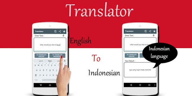 Download Indonesian English Translator APK for Android