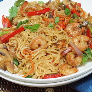 Nigerian Indomie Noodles Stir-Fry Recipe