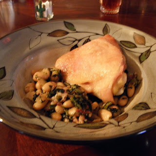 Chicken with Cannellini Beans.