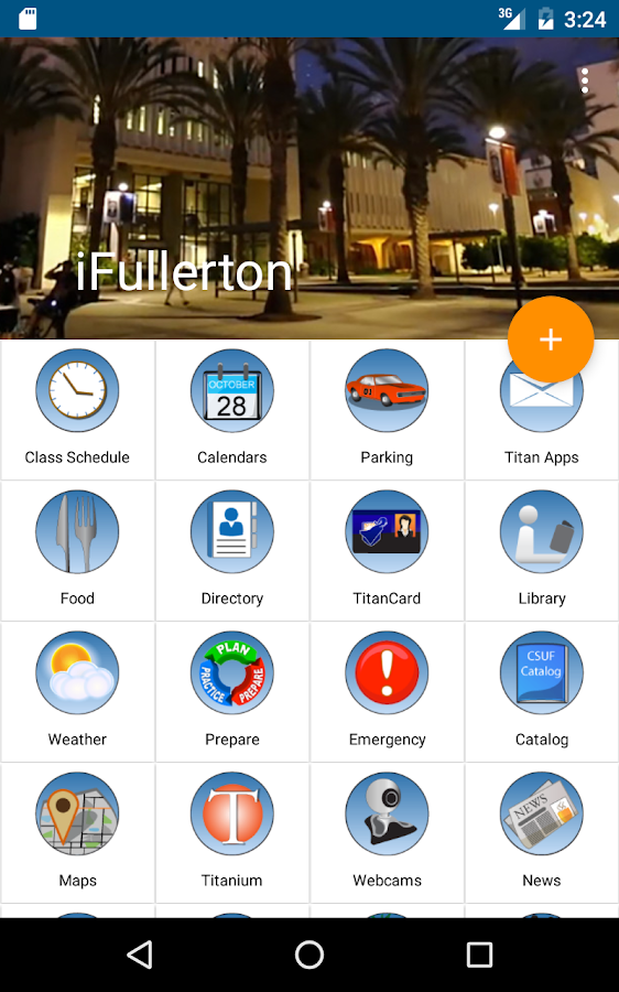 iFullerton- screenshot