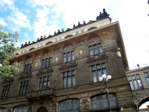 Photo: Some of the beautiful architecture on Na Prikope