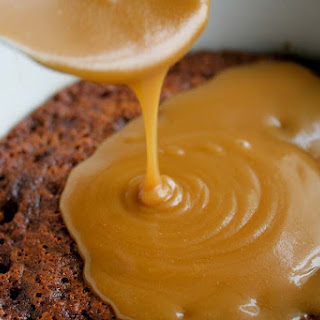 Sticky Toffee Pudding with Dates and Candied GingerEight servings.