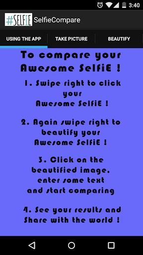 Selfie Compare