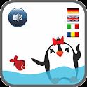Reading app for kids Penguins icon