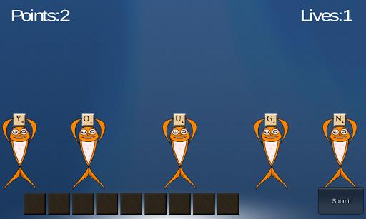 Jumble Word Game: Word Fish
