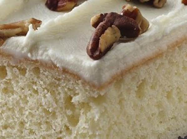 Homemade White Cake... Recipe