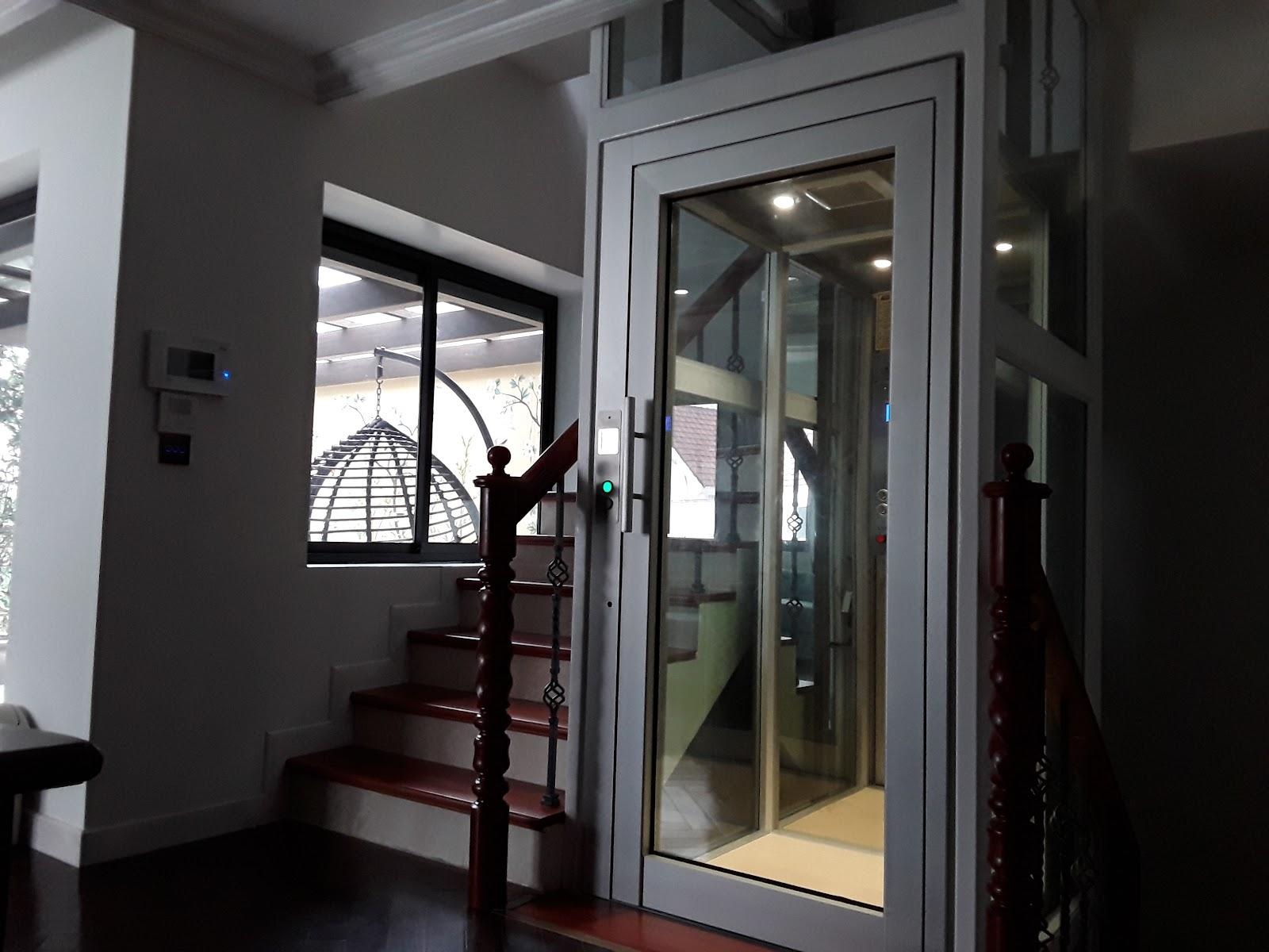 Thang máy gia đình Gama sang trọng trong căn hộ Vinhomes