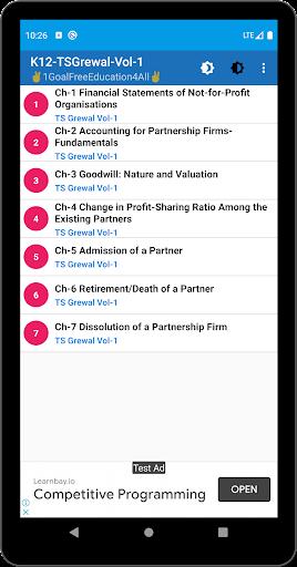Account Class-12 Solutions (TS Grewal Vol-1) 2019 screenshots 4