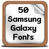 50 SamsungGalaxy Fonts