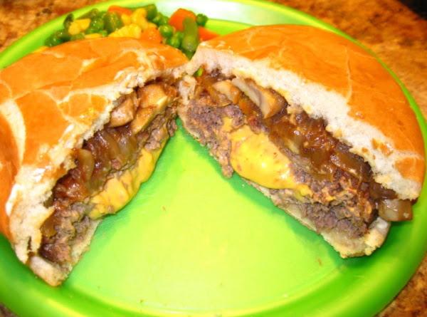 Juicy Cheesy Burgers Recipe