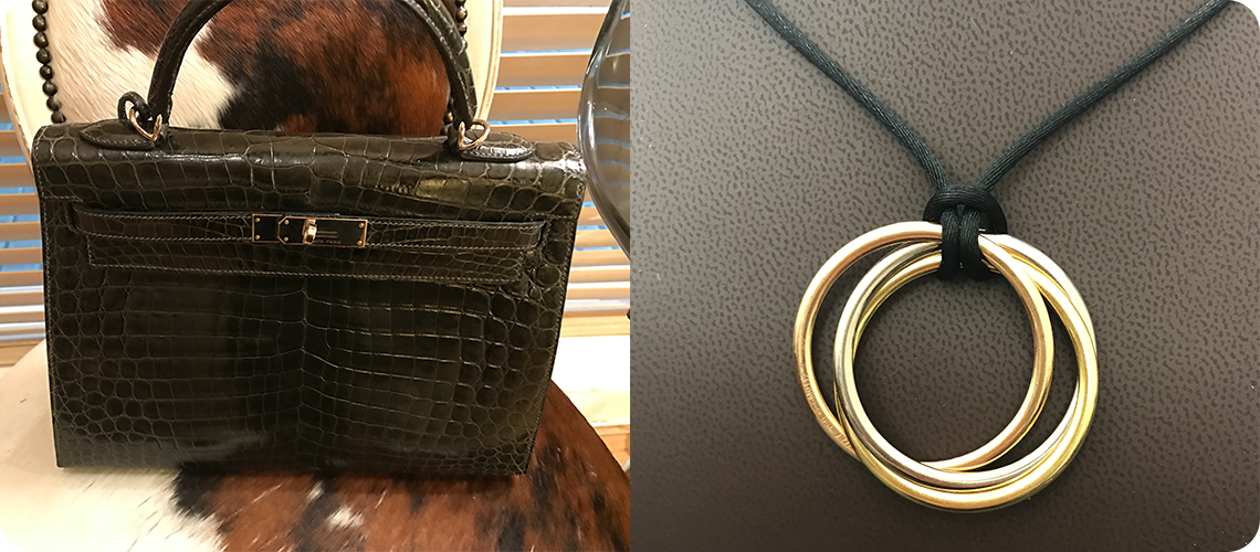 Pre-owned handbags