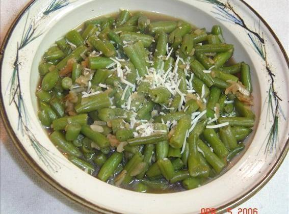 Green Beans In Onion Sauce Recipe