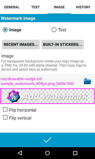 Add Watermark for PC