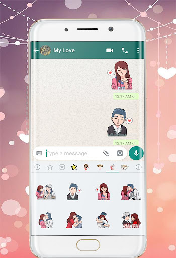 Love WAStickers 2019: Love Couples Stickers ss3