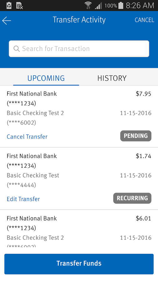 Mutual of Omaha Bank- screenshot