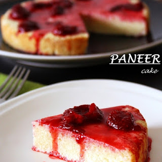 Paneer Cake Or Chena Cake (low Fat Cottage Cheese Cake).