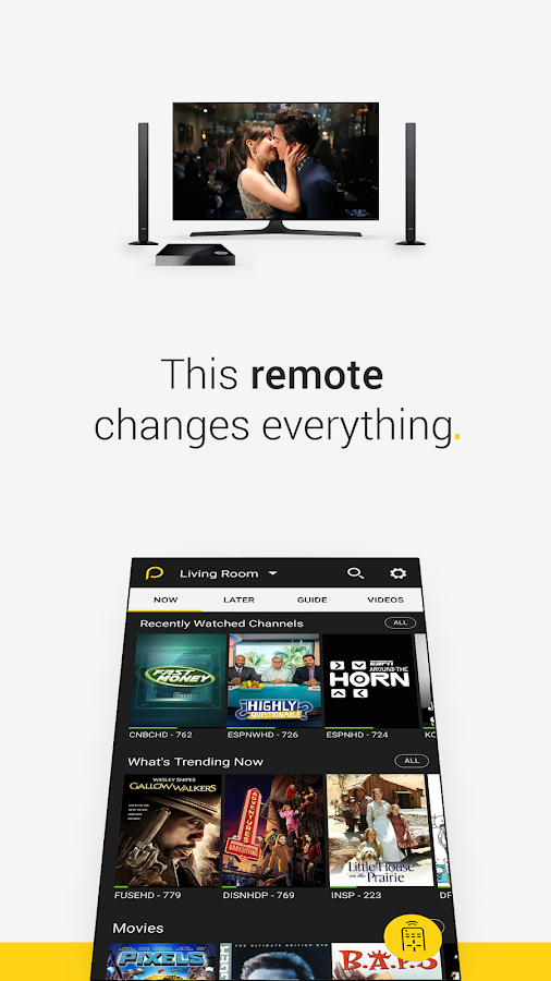 Peel Universal Smart TV Remoto: captura de pantalla